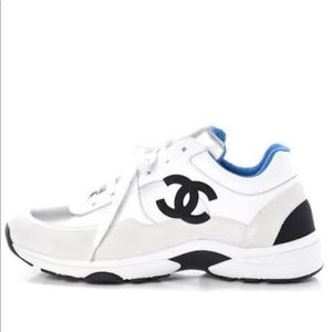Authentic Chanel Sneakers from Paris sz 37.5